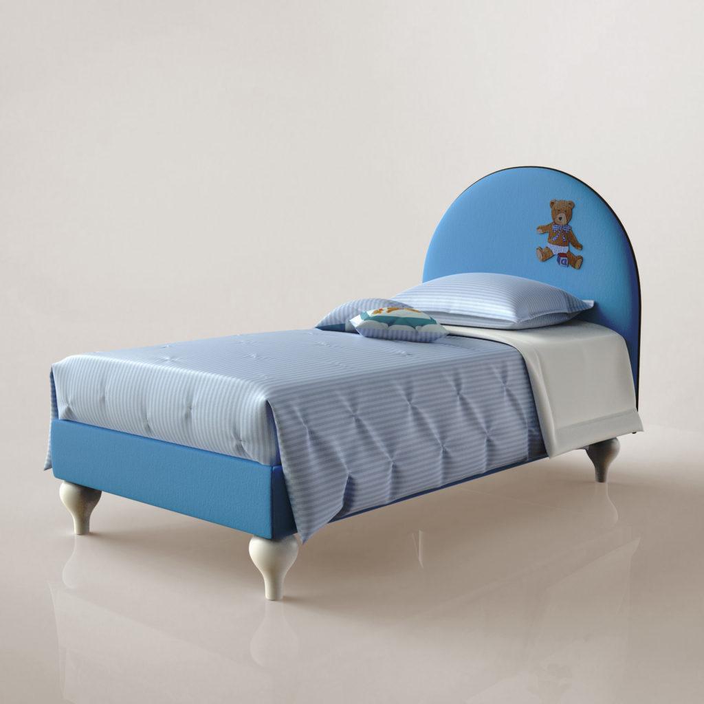 immagine digitale letto blu