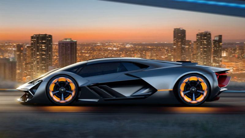 Accelerare le vendite a  bordo di una Lamborghini.