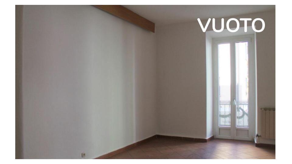 appartamento vuoto