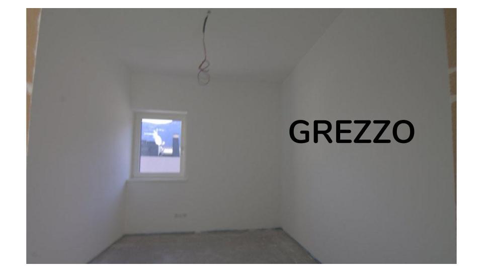 appartamento grezzo